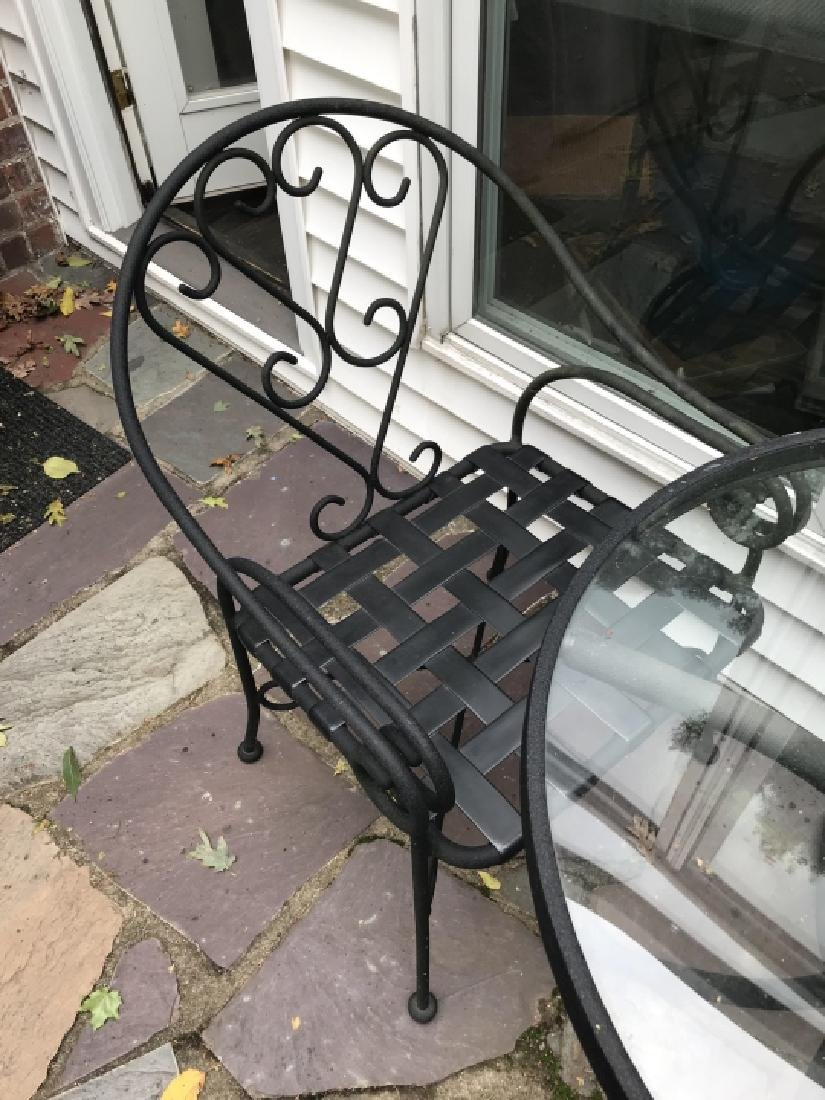 Garden / Patio / Outdoor Bistro Table & Chair Set - 2