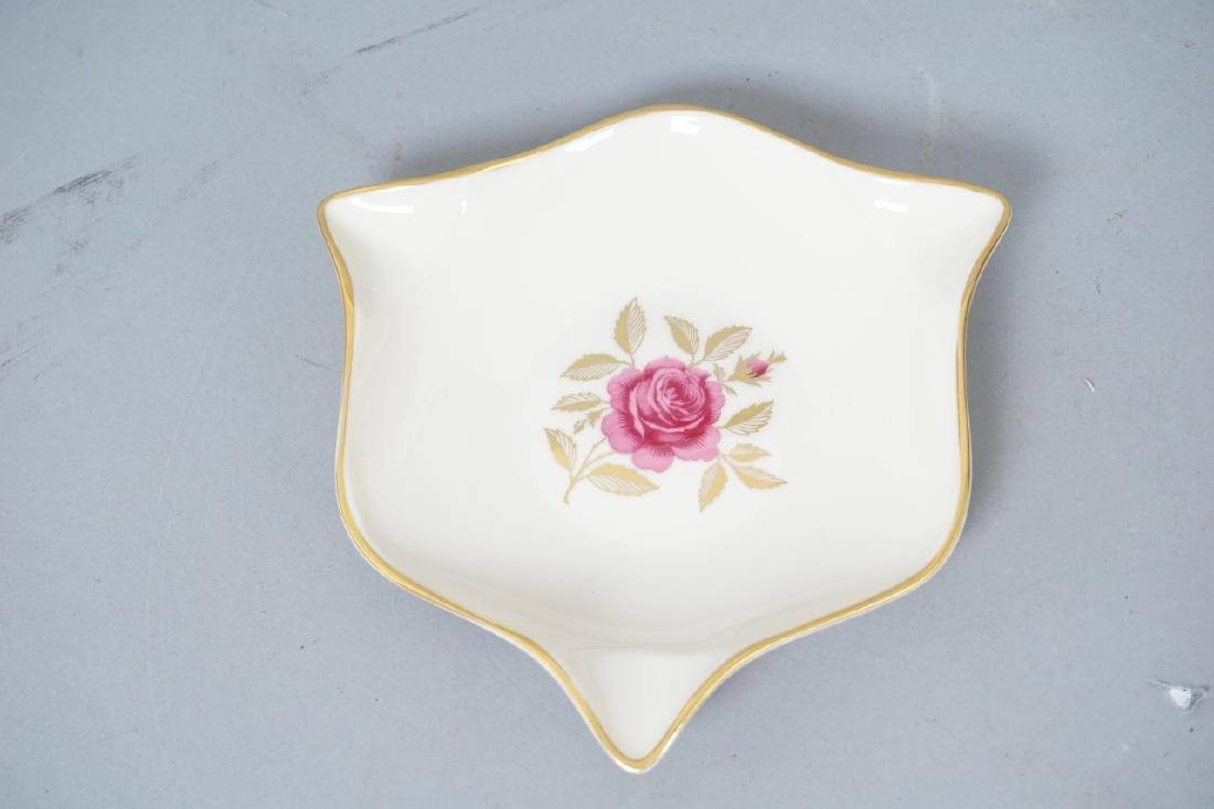 2 Lenox Porcelain Swan Form Candy Dish &  Ash Tray - 10