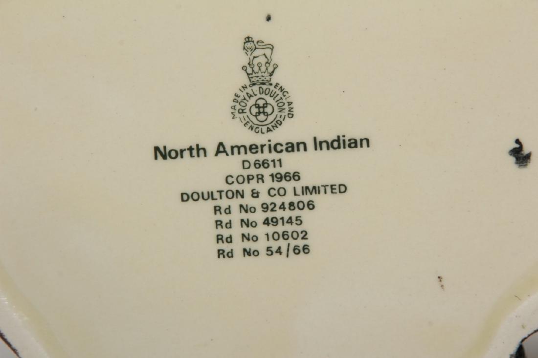 Royal Doulton North American Indian Toby Jug 6611 - 2