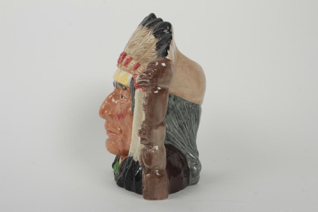 Royal Doulton North American Indian Toby Jug 6611 - 5