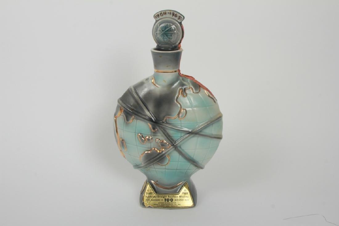 1965 Worlds Fair Porcelain Beam Whiskey Bottle - 3