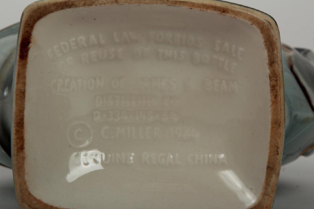 1965 Worlds Fair Porcelain Beam Whiskey Bottle - 7