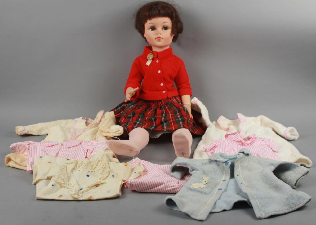 Large Mid Century Mimi Madame Alexander Doll