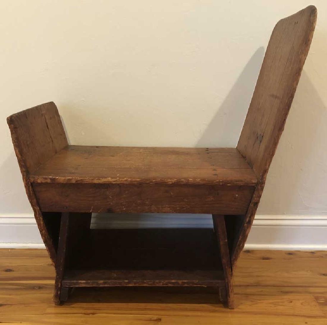 Antique Pine Cobbler Bench