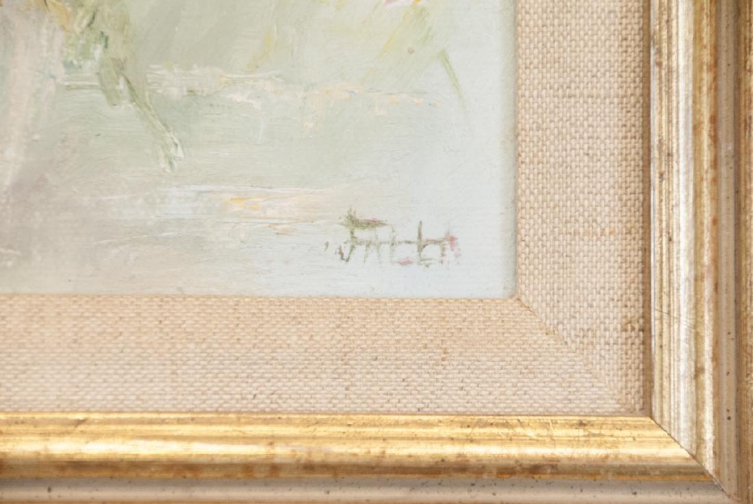 Original Signed Oil on Canvas Still Life Painting - 6