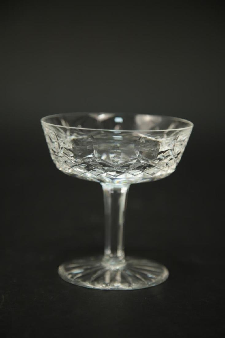 4 Waterford Crystal Wine Glasses, 3 Champagne - 2