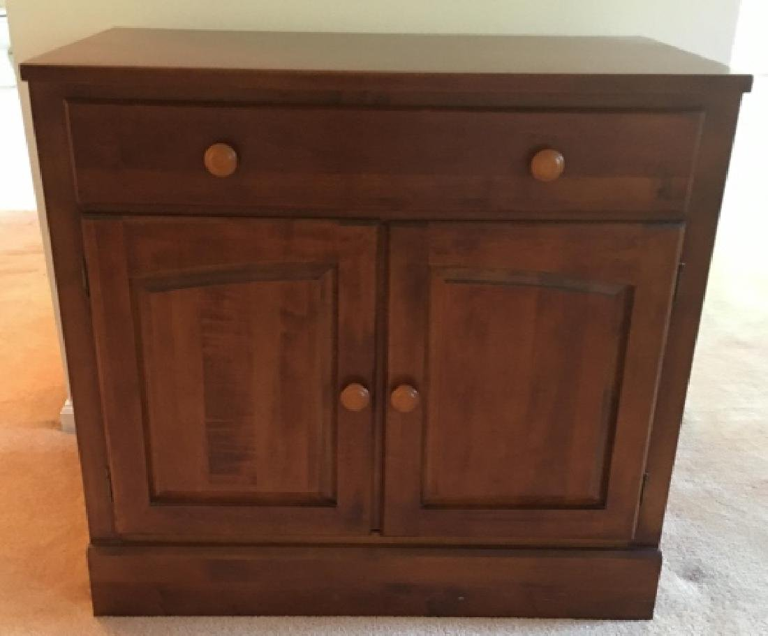 Ethan Allan American Country Style Console Cabinet