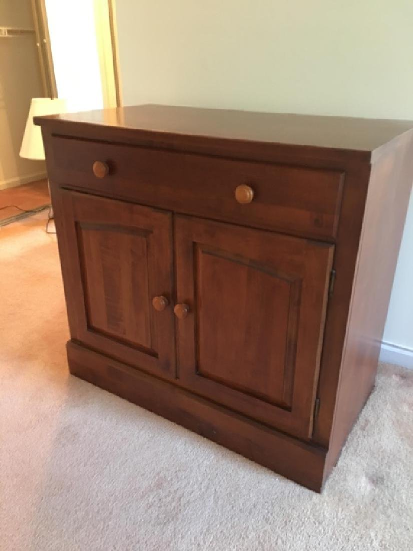 Ethan Allan American Country Style Console Cabinet - 6