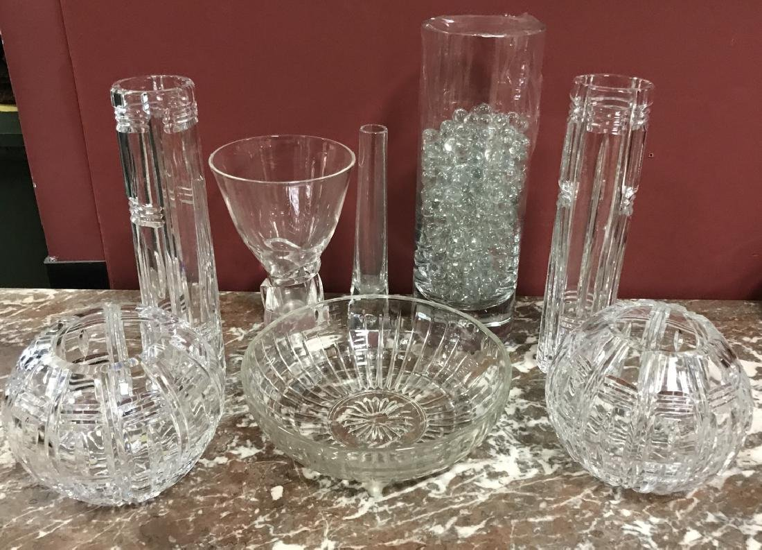 Glass & Crystal Decorative Objects Incl. Steuben