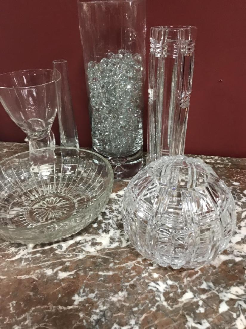 Glass & Crystal Decorative Objects Incl. Steuben - 2
