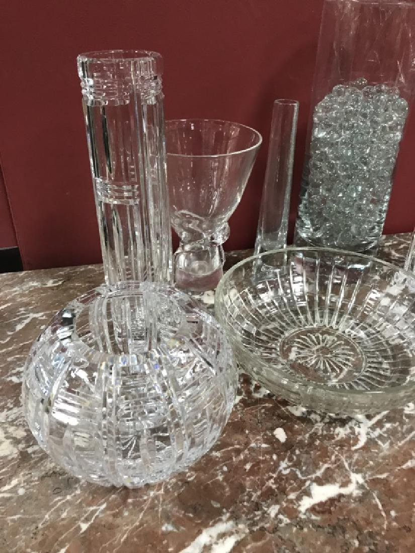 Glass & Crystal Decorative Objects Incl. Steuben - 4
