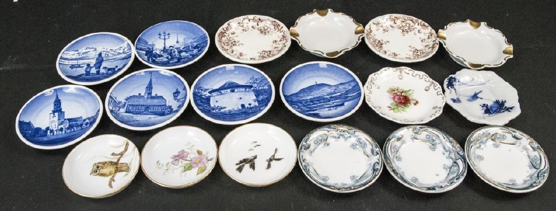Lot Antique Miniature Porcelain Condiment Dishes