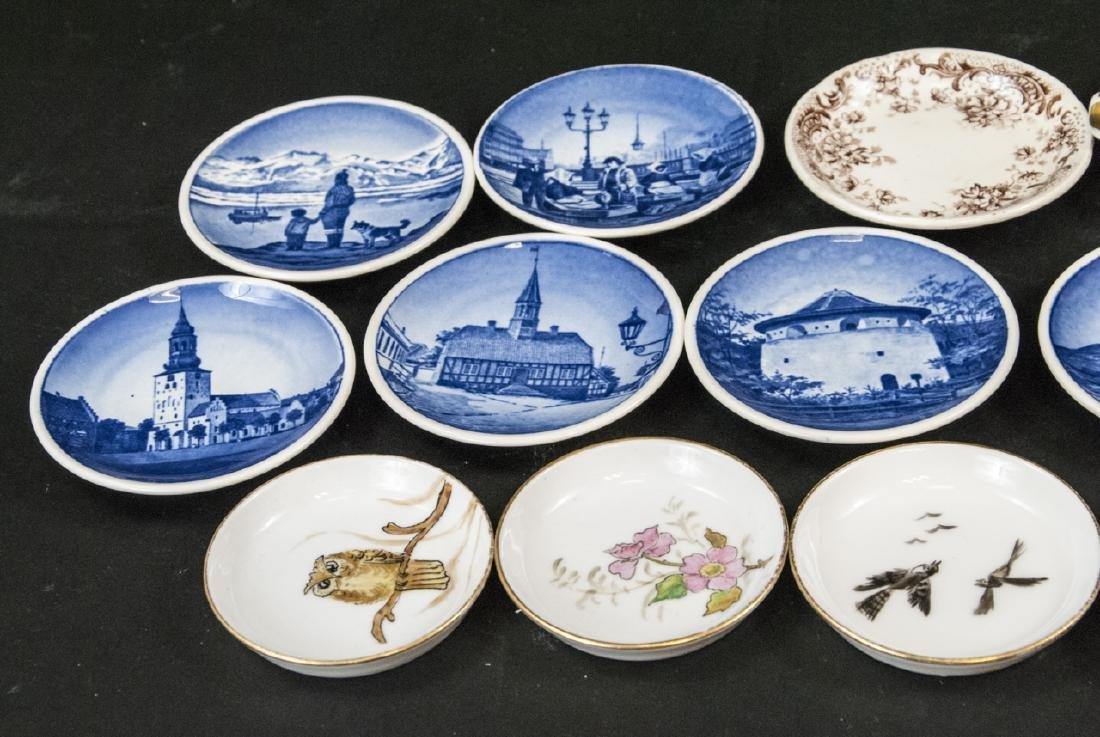 Lot Antique Miniature Porcelain Condiment Dishes - 2