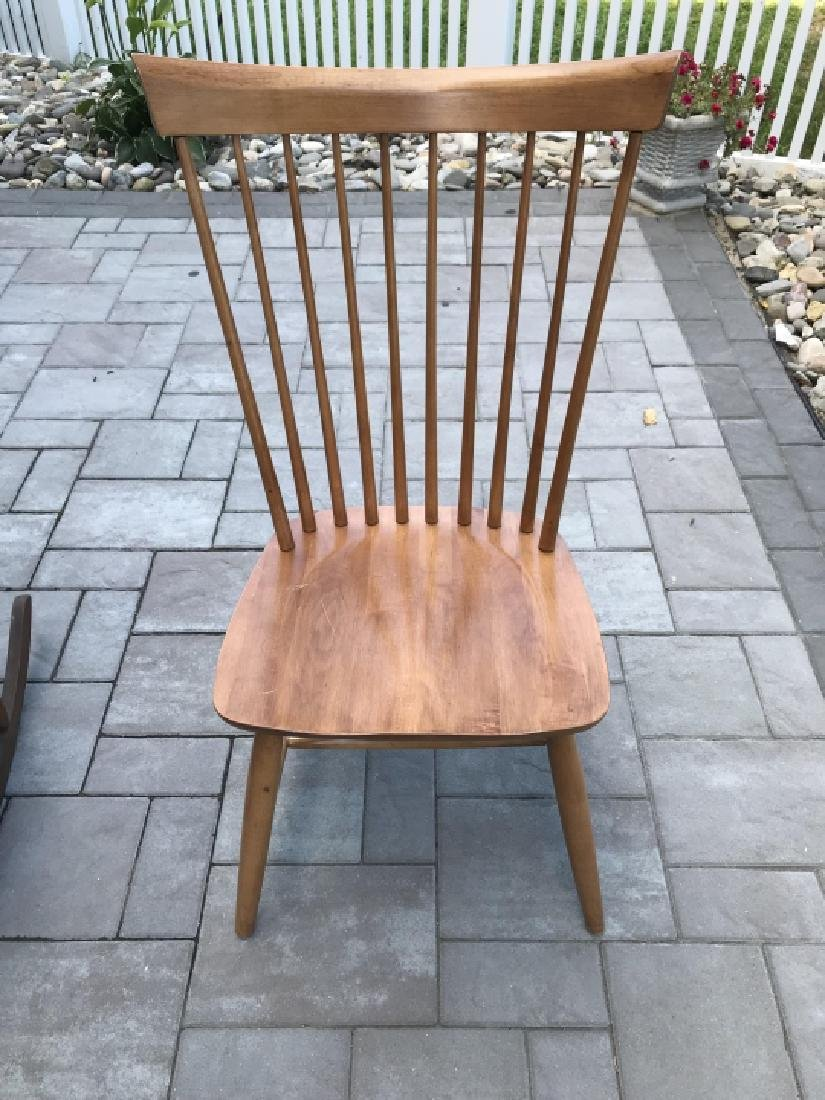 Antique Chippendale Rocking Chair & Windsor Chair - 2