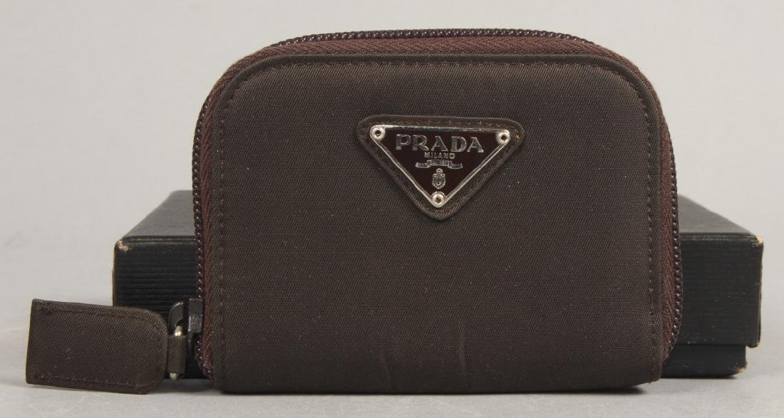 Vintage Prada Nylon Coin Purse