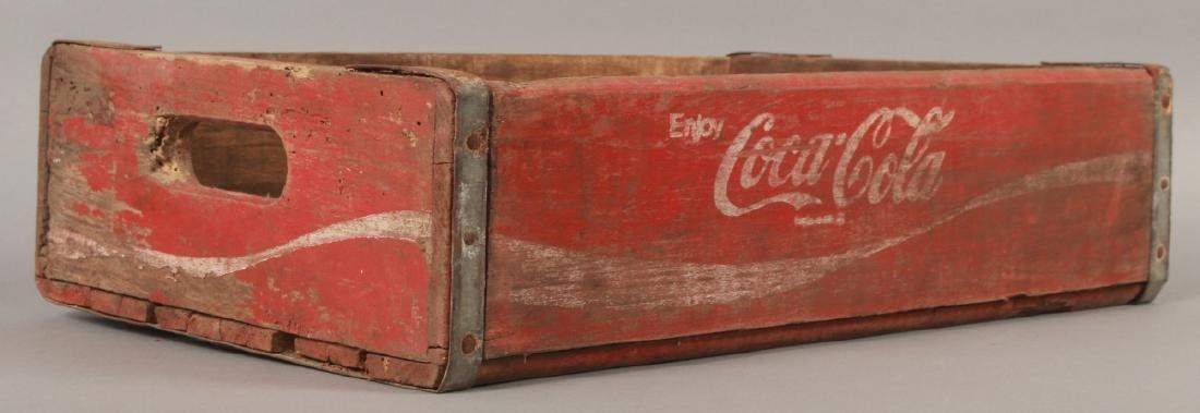 Antique Coca Cola Wooden Crate for Bottles