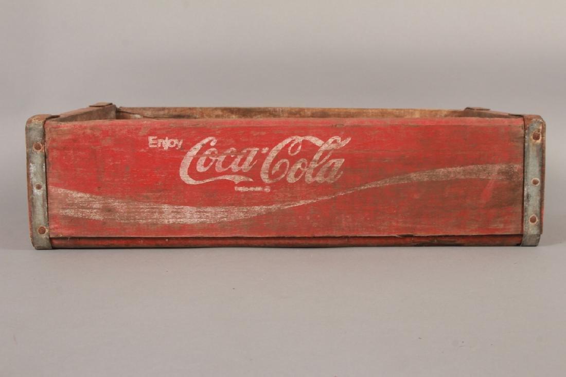 Antique Coca Cola Wooden Crate for Bottles - 2