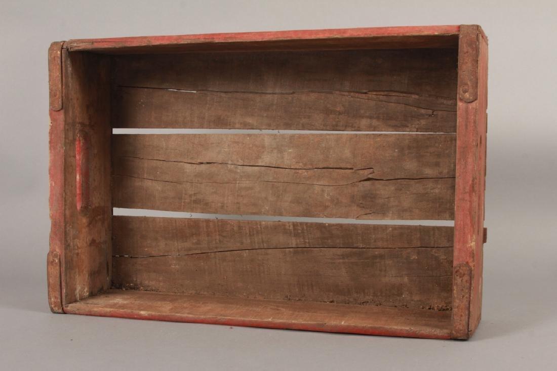Antique Coca Cola Wooden Crate for Bottles - 3
