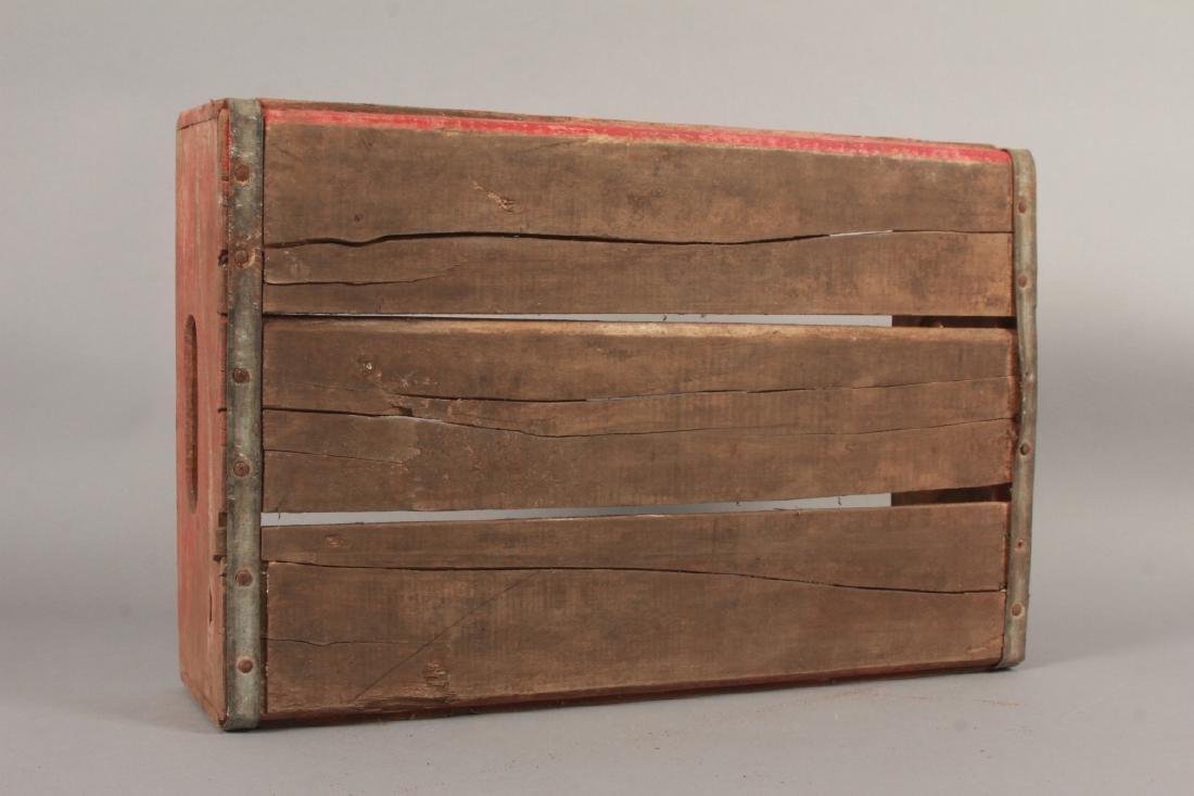 Antique Coca Cola Wooden Crate for Bottles - 4