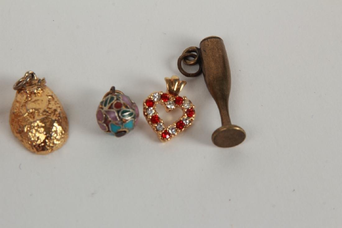 Vintage Costume Jewelry Pieces & Parts Lot - 3