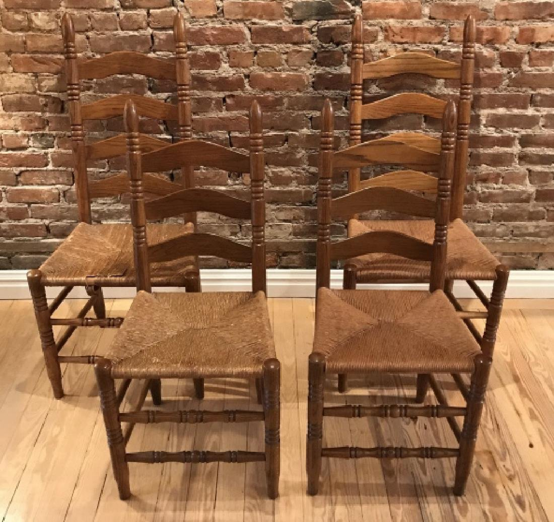 French Provencal Style Kitchen Dining Room Chairs