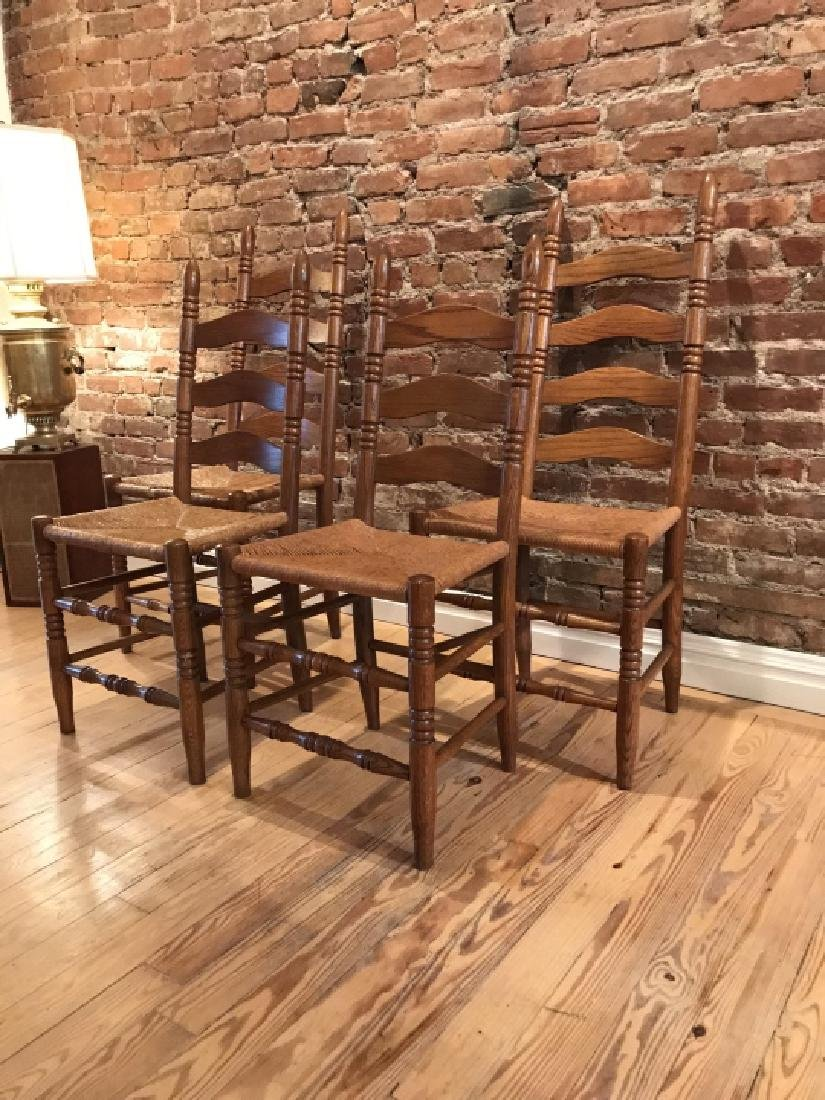French Provencal Style Kitchen Dining Room Chairs - 2