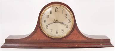 Vintage Mahogany Electric Mantle Clock