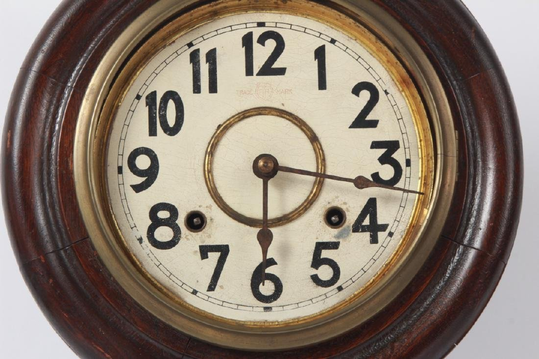 Fukuro Japanese Wooden Case Wall Clock - 6