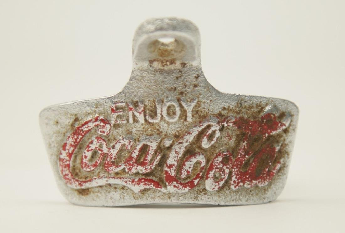 Vintage Metal Coca Cola Counter Bottle Opener