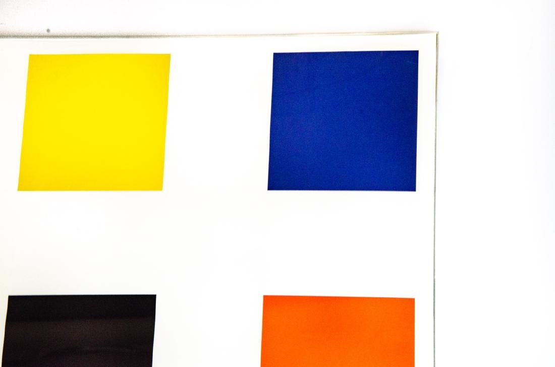 "Ellsworth Kelly Signed ""Nine Square"" Lithograph - 5"