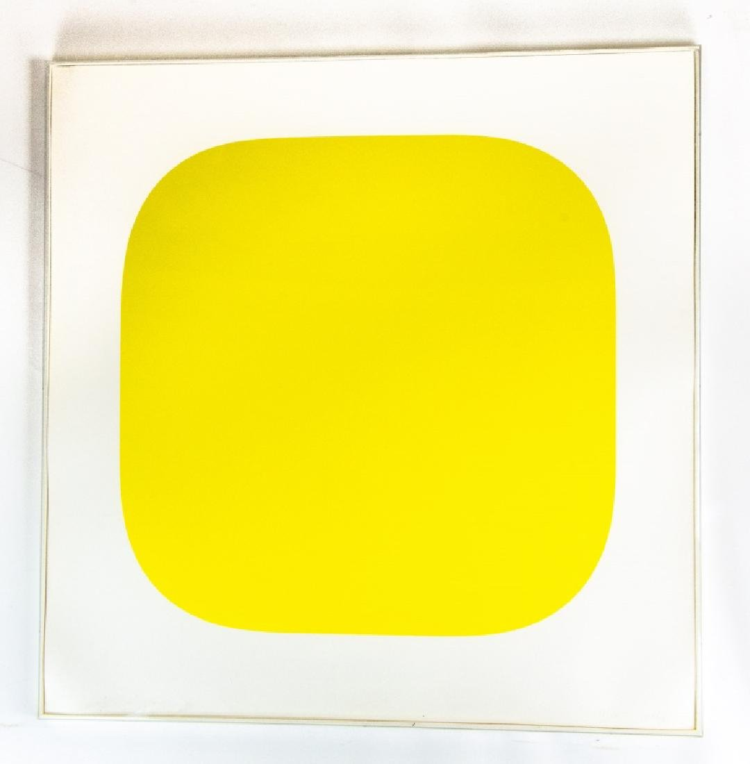 "Ellsworth Kelly Signed ""Yellow"" Lithograph"