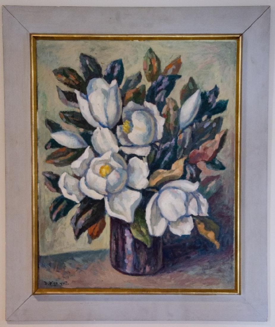 B Koenic - Impressionist Style Still Life Painting