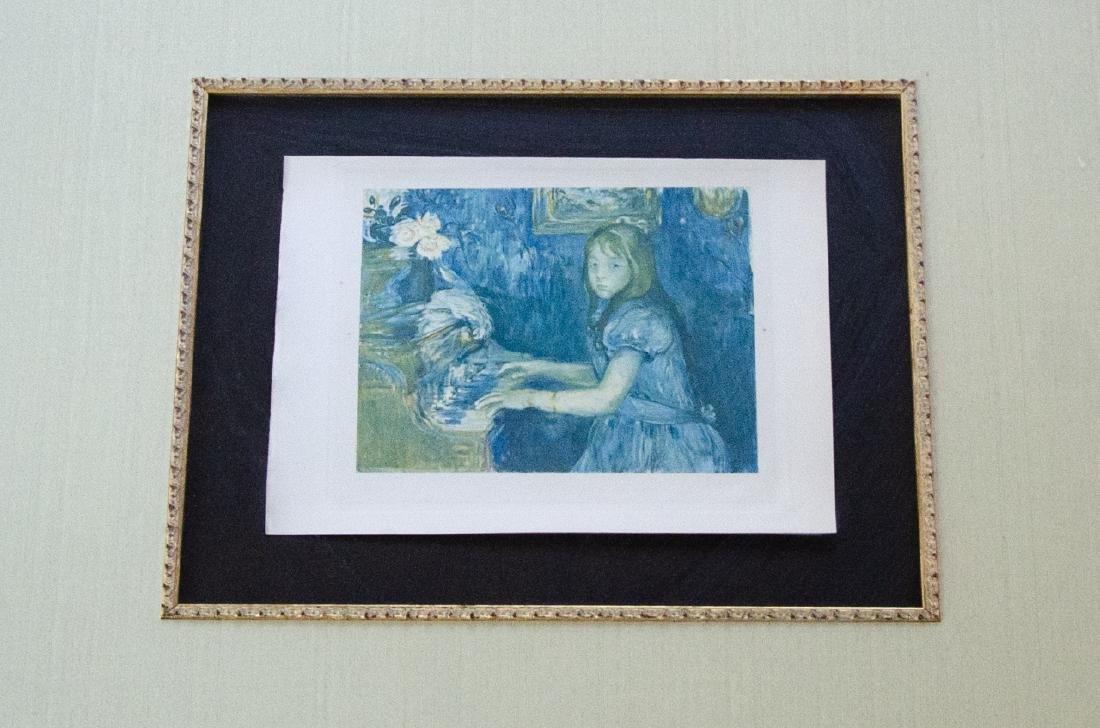 Berthe Morisot Au Piano Quality Framed Print - 2
