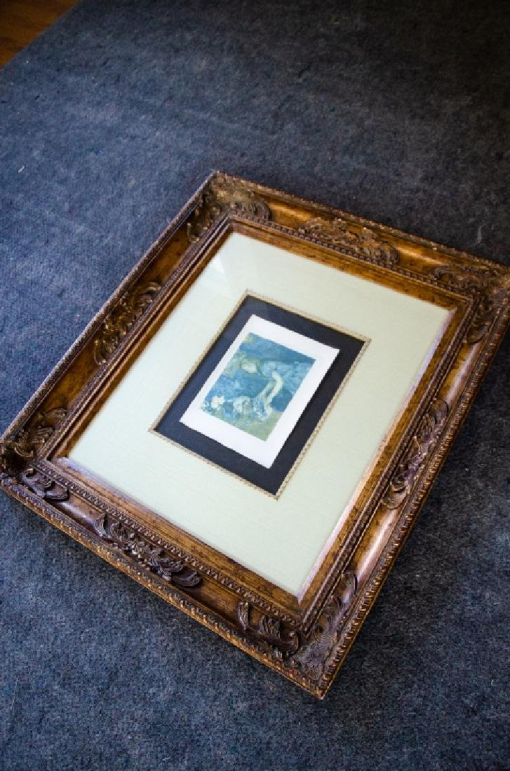 Berthe Morisot Au Piano Quality Framed Print - 5