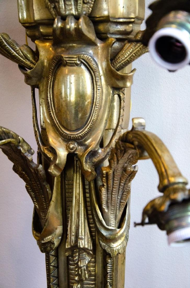 French Empire Napoleonic Style Gilt Bronze Sconce - 4