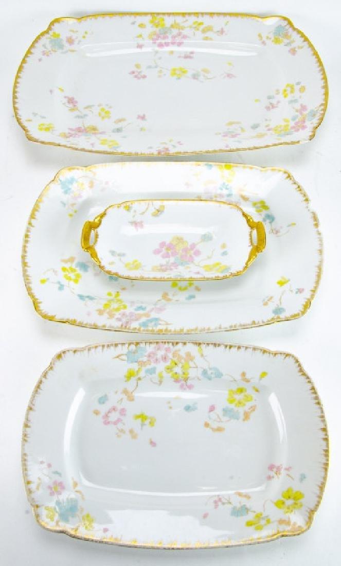 Antique D & C Limoges French Porcelain Platters