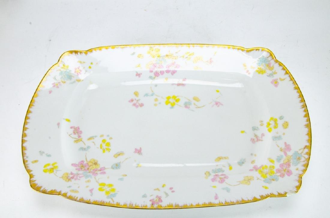 Antique D & C Limoges French Porcelain Platters - 3