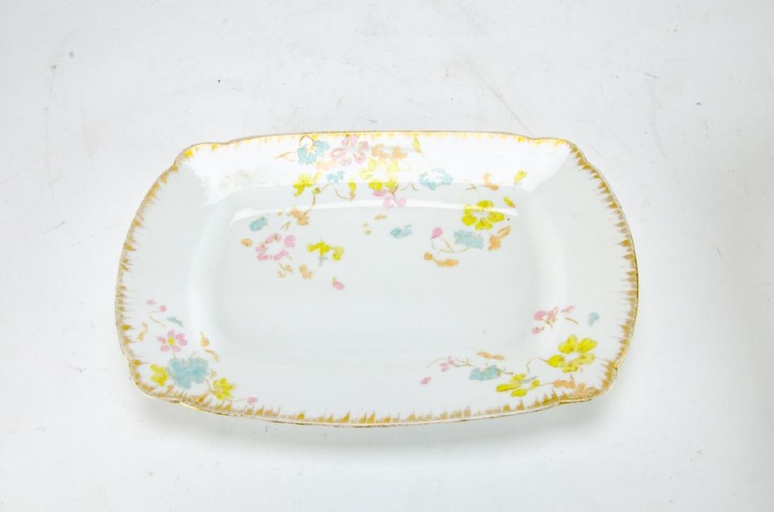 Antique D & C Limoges French Porcelain Platters - 5