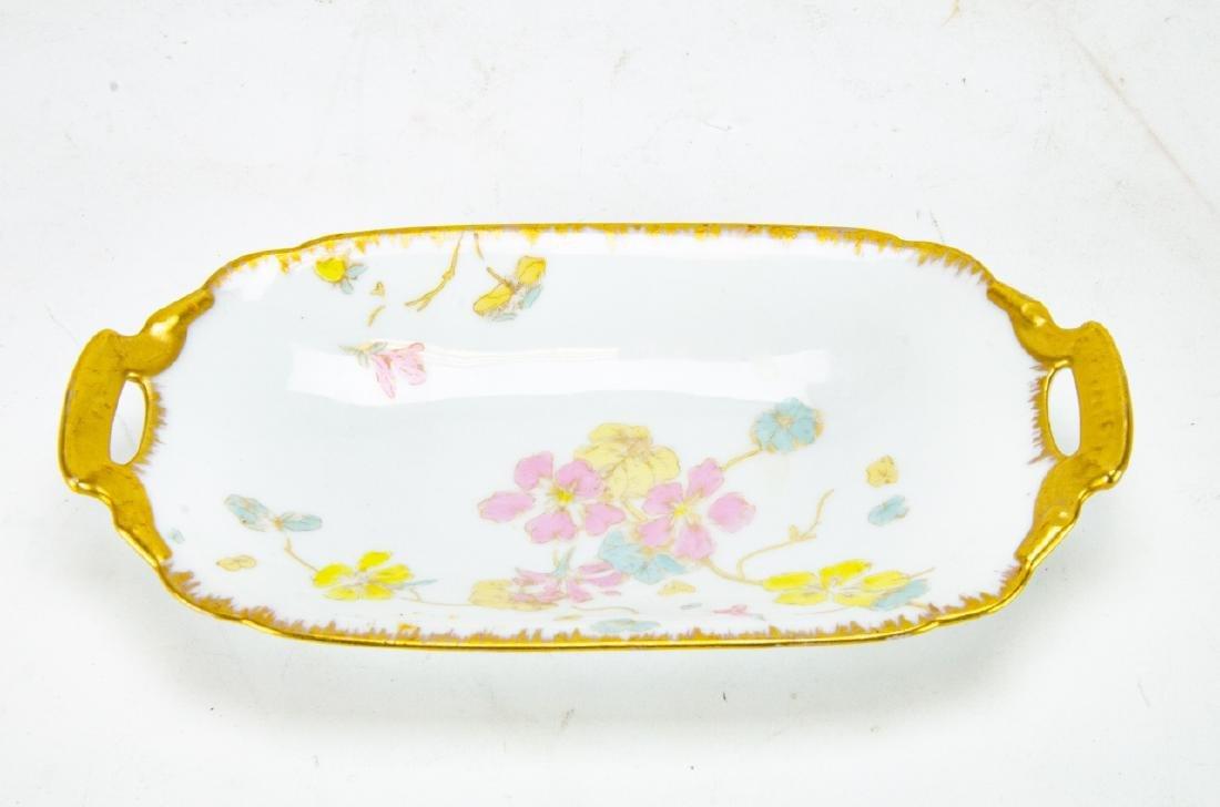 Antique D & C Limoges French Porcelain Platters - 6