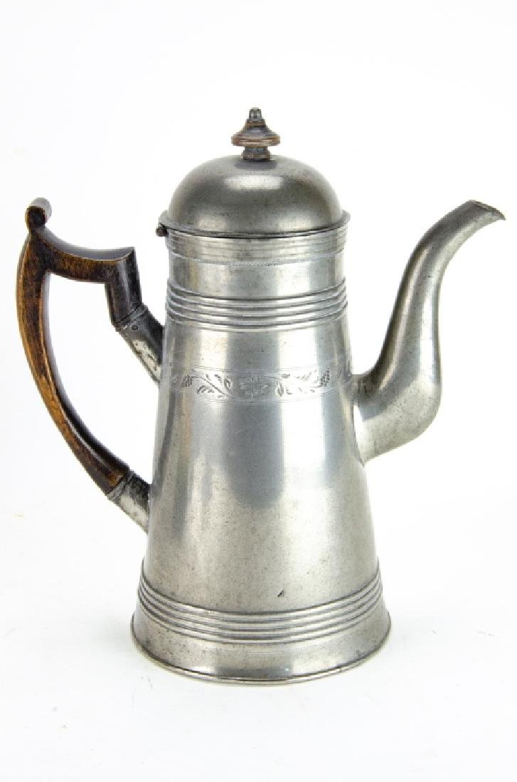 Collection of Pewter & Ceramic Pitchers - 2