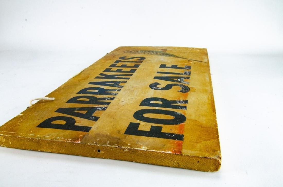2 Vintage / Retro Advertising Salesman Signs - 3
