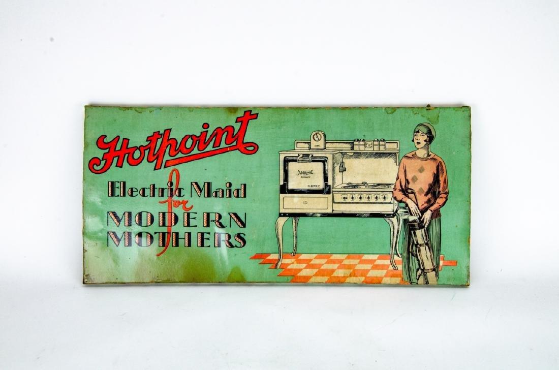 2 Vintage / Retro Advertising Salesman Signs - 4