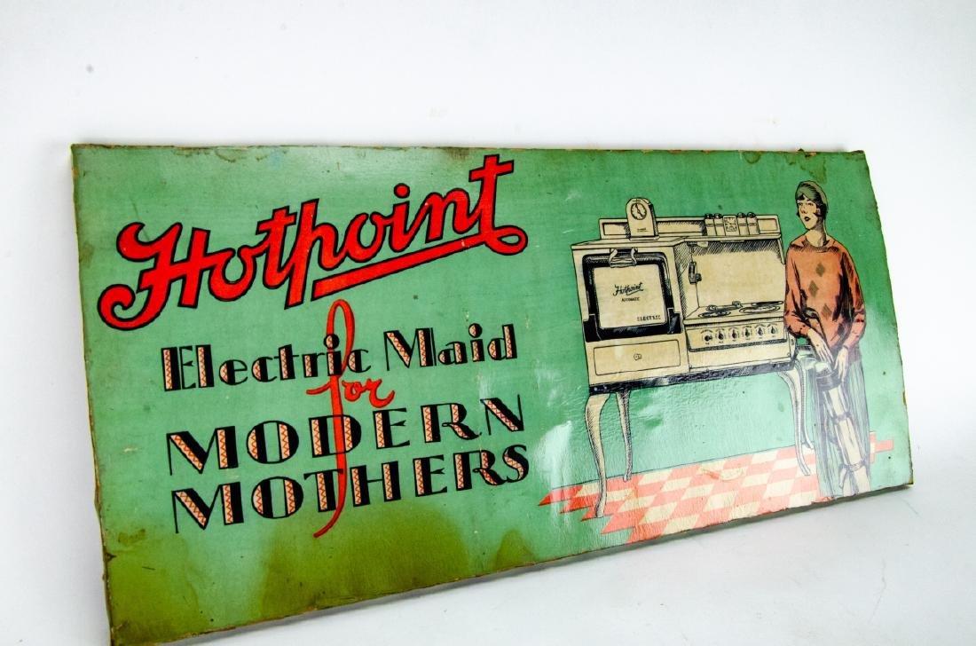 2 Vintage / Retro Advertising Salesman Signs - 5