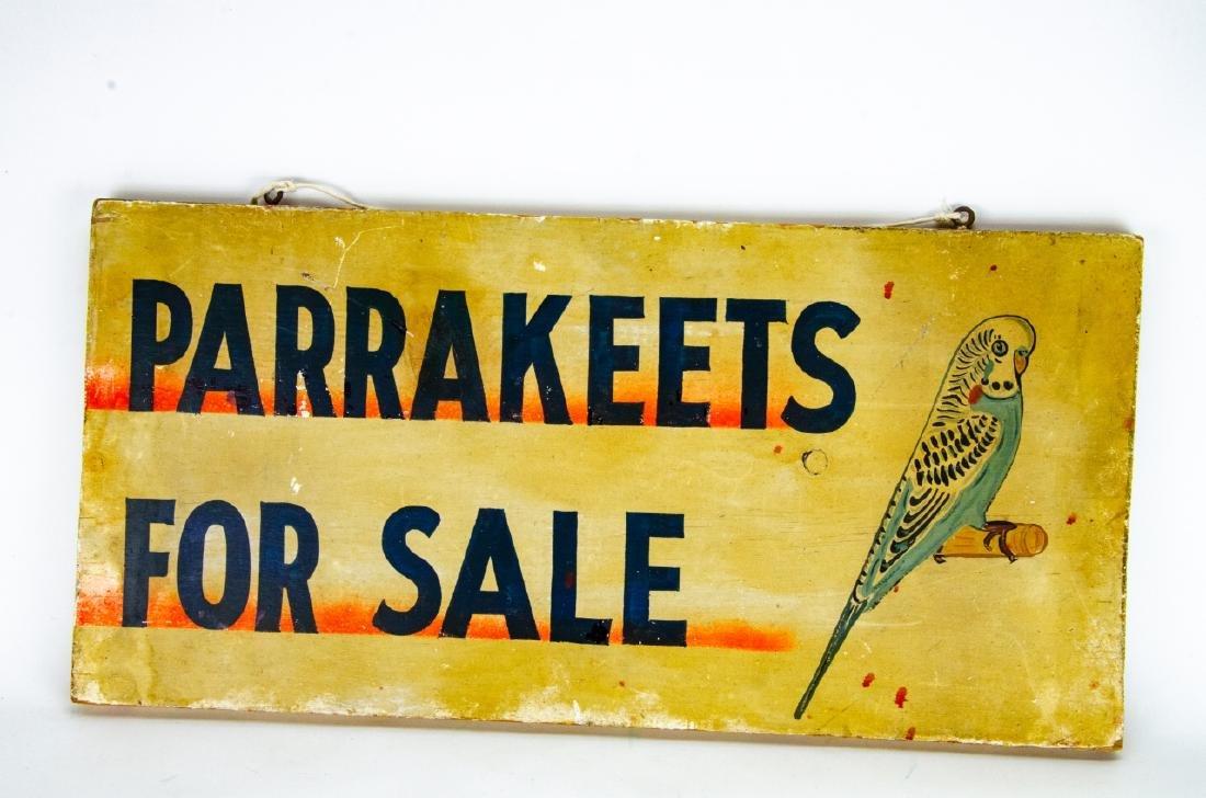 2 Vintage / Retro Advertising Salesman Signs - 8
