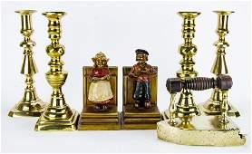 Lot of Vintage Brass Decorative Objects