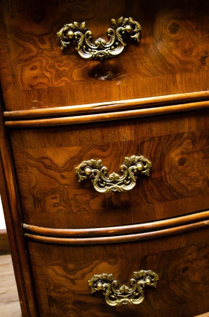 Fancher Chippendale Style Slant Top Secretary Desk - 5