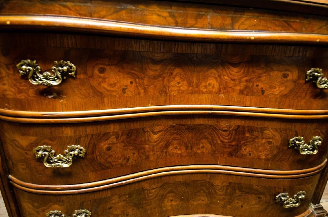 Fancher Chippendale Style Slant Top Secretary Desk - 6