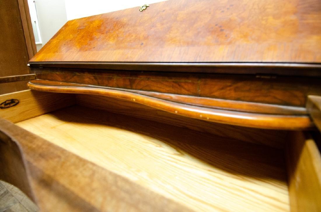 Fancher Chippendale Style Slant Top Secretary Desk - 8