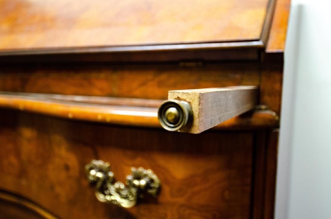 Fancher Chippendale Style Slant Top Secretary Desk - 9
