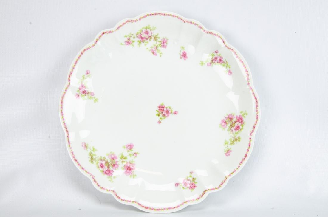 Vintage Haviland Limoges Rose Themed Porcelain - 2